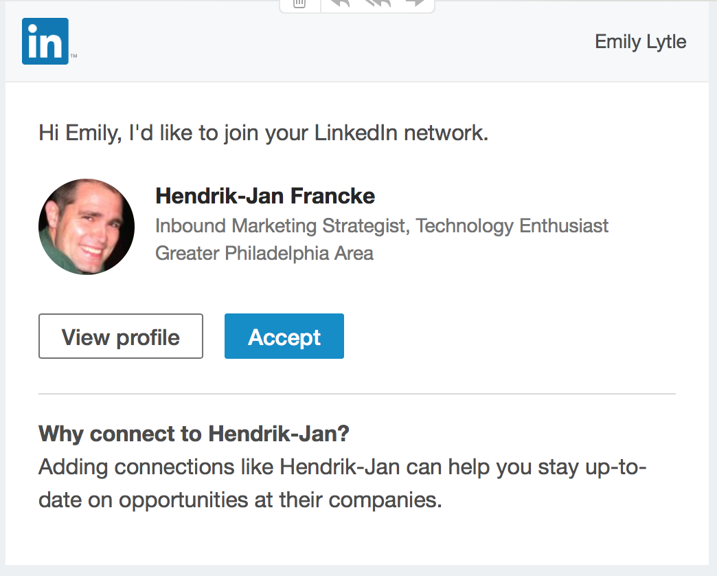 LinkedIn Automated Invite