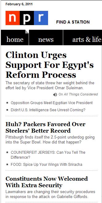 npr headlines