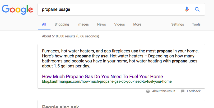 kauffman-gas-google-featured-snippet-short-tail-keyword-search-results.png